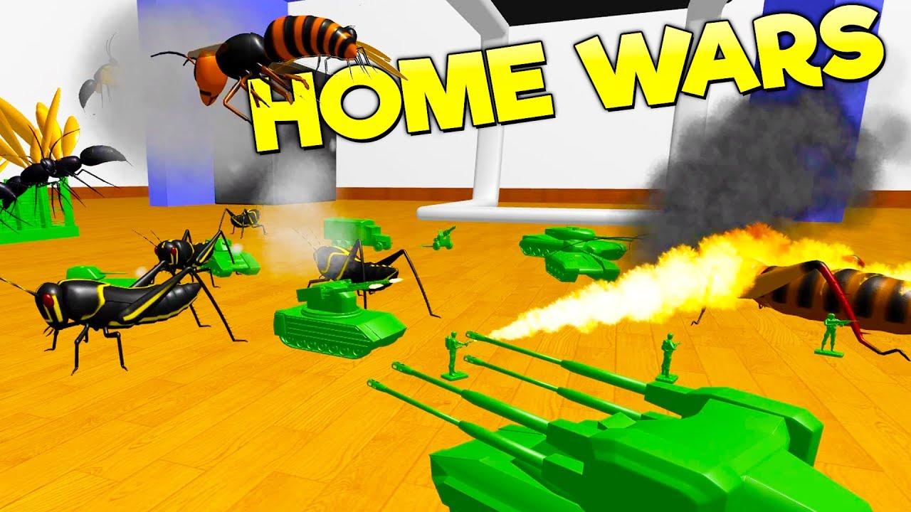 Ravenfield Meets Total Tank Simulator Battle Giant Bugs