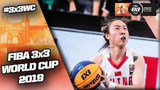 China v Australia | Women's Full Semi-Final | FIBA 3x3 World Cup 2019