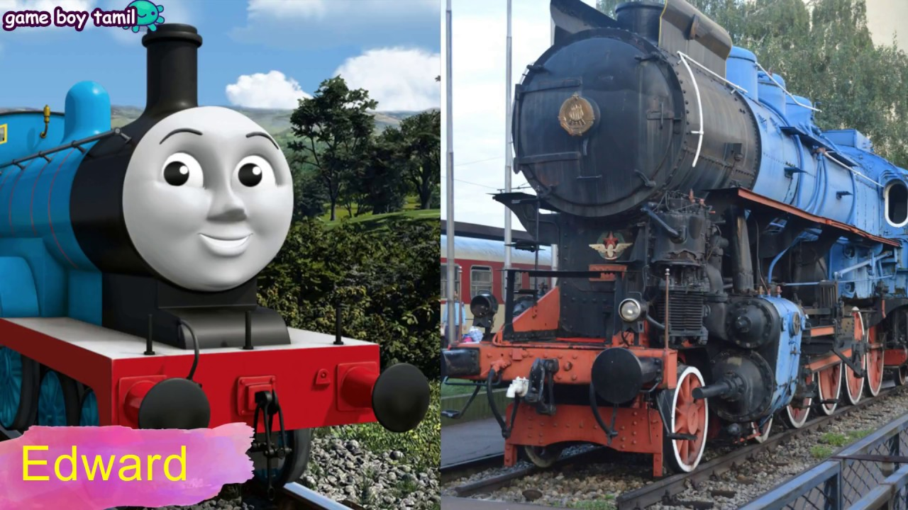 Thomas And Friends Characters In Real Life