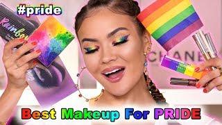 PRIDE MAKEUP LOOK + REVIEW | Maryam Maquillage