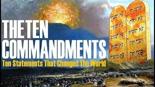 THE TEN COMMANDMENTS: Ten Statements That Changed The World – Shavuot Pentecost – Jews for Judaism