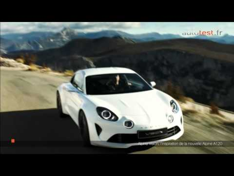 nouvelle renault alpine a120 2016 youtube. Black Bedroom Furniture Sets. Home Design Ideas