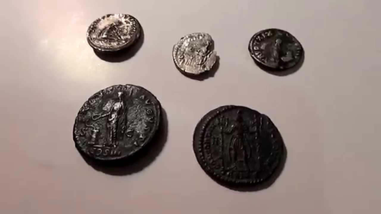 Besten Funde 2014 Römischen Münzen Mit Metalldetektor Youtube