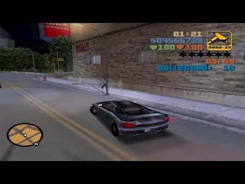 GTA III Walkthrough - Mission #54 - Bullion Run