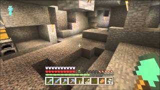 Minecraft Xbox 360 1.0.1 #82 - Gold Mining Tutorial and Chest Stacking
