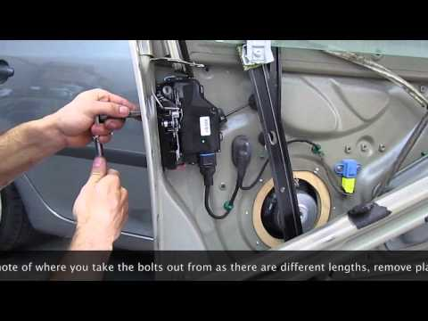 Volkswagen jetta removing rear door lock assy part 4 doovi for 06 vw passat door lock problems