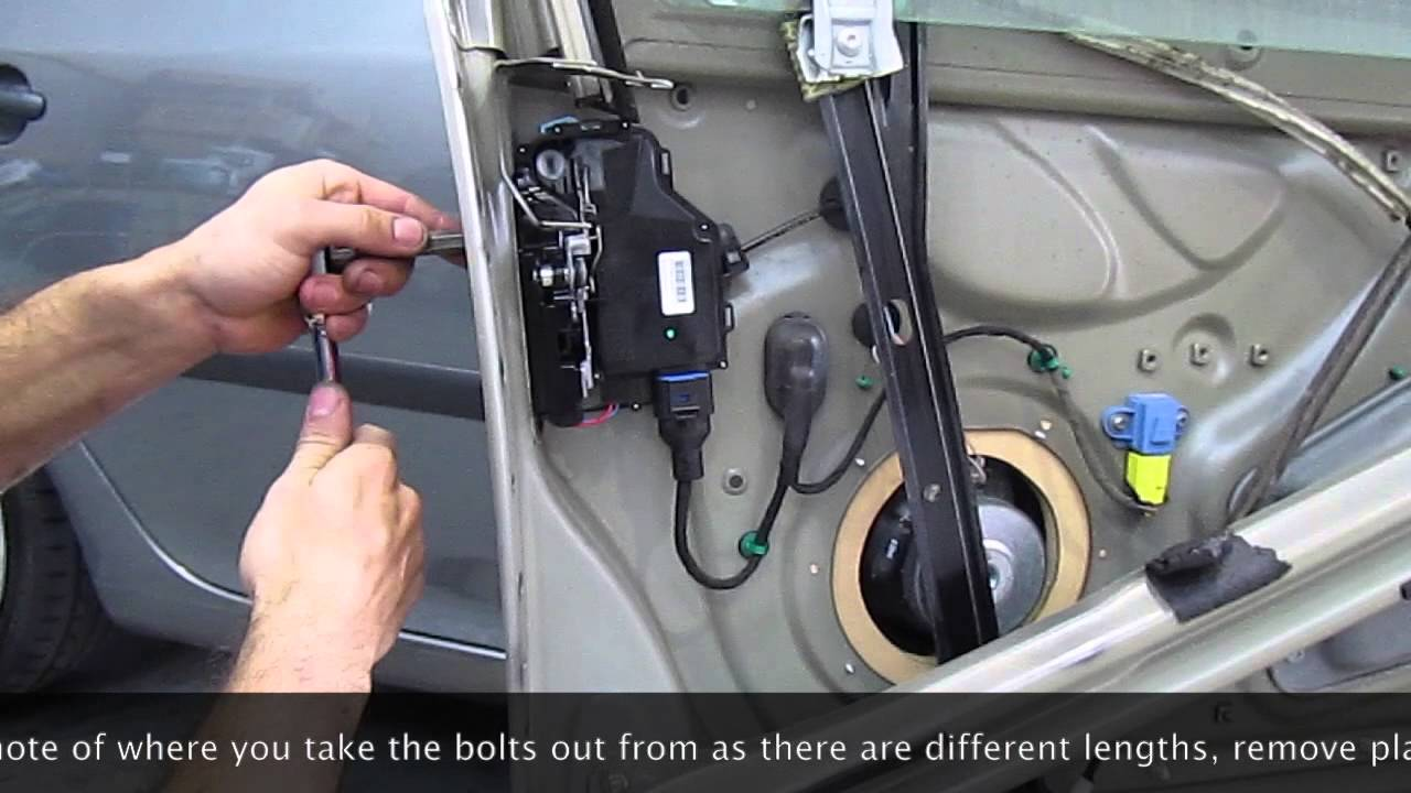 VW Golf Mk5 Central Locking Repair YouTube