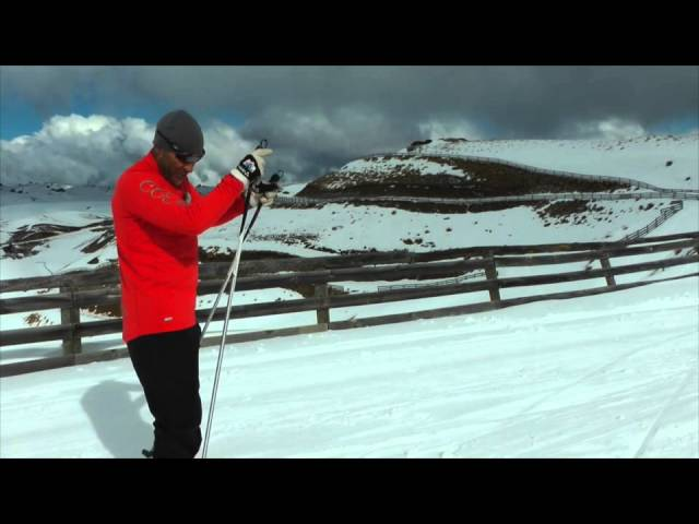 Cross Country Skiing - Double Poling