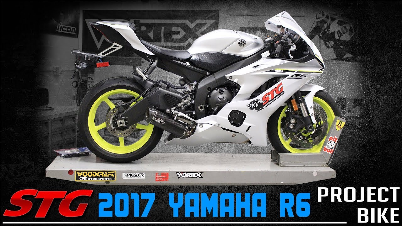2017 - 2018 Yamaha R6 STG Project Bike