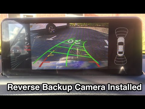 Reverse Backup Camera Install BMW 1 Series E88 E87 E82 E81