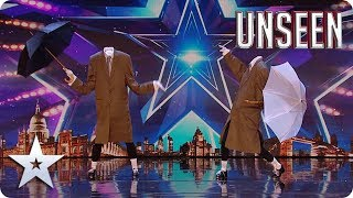 TAP with a TWIST! Lose your head with the MIND-BLOWING The Headless Brothers!  | BGT: UNSEEN