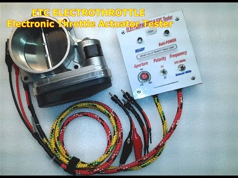 ETC Electronic Throttle Tester