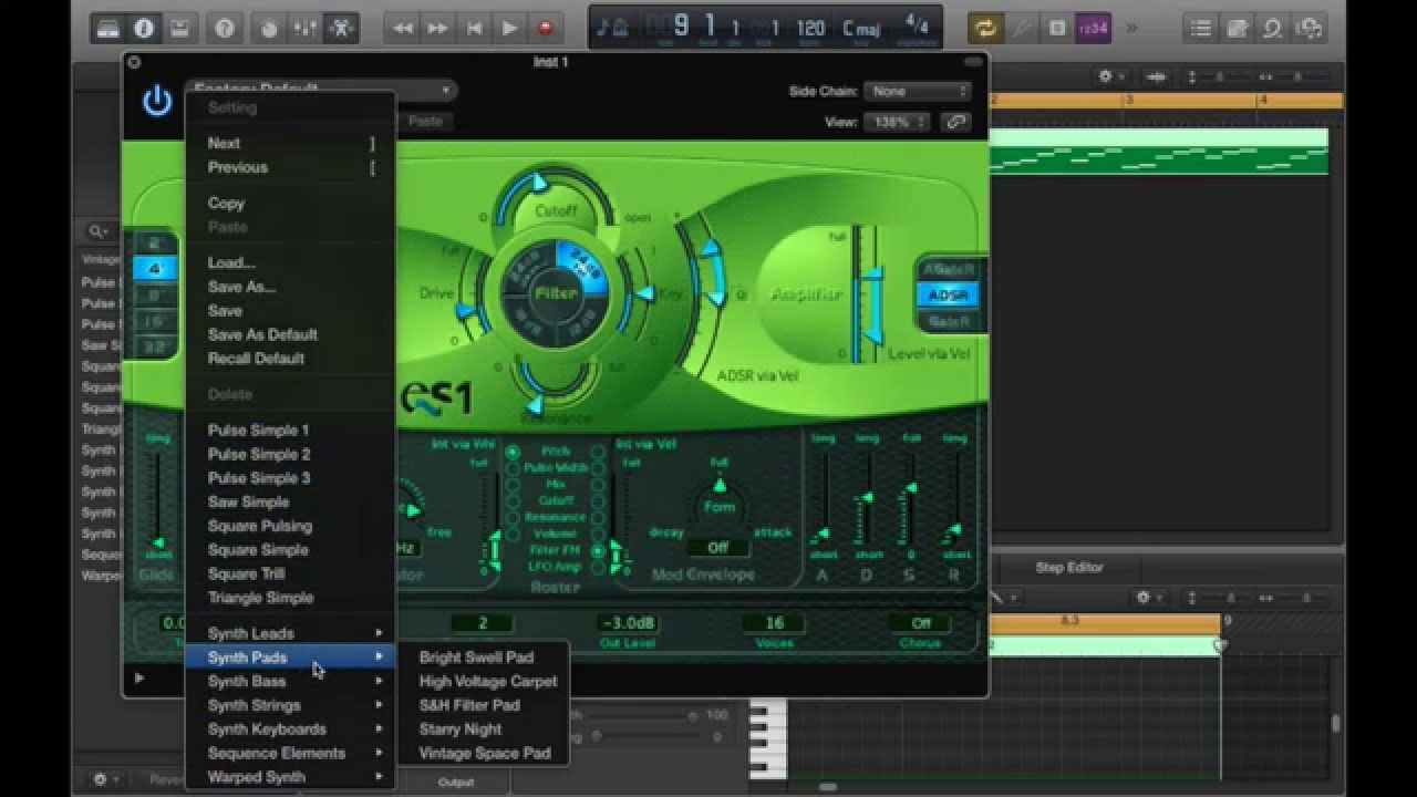es1 synthesizer