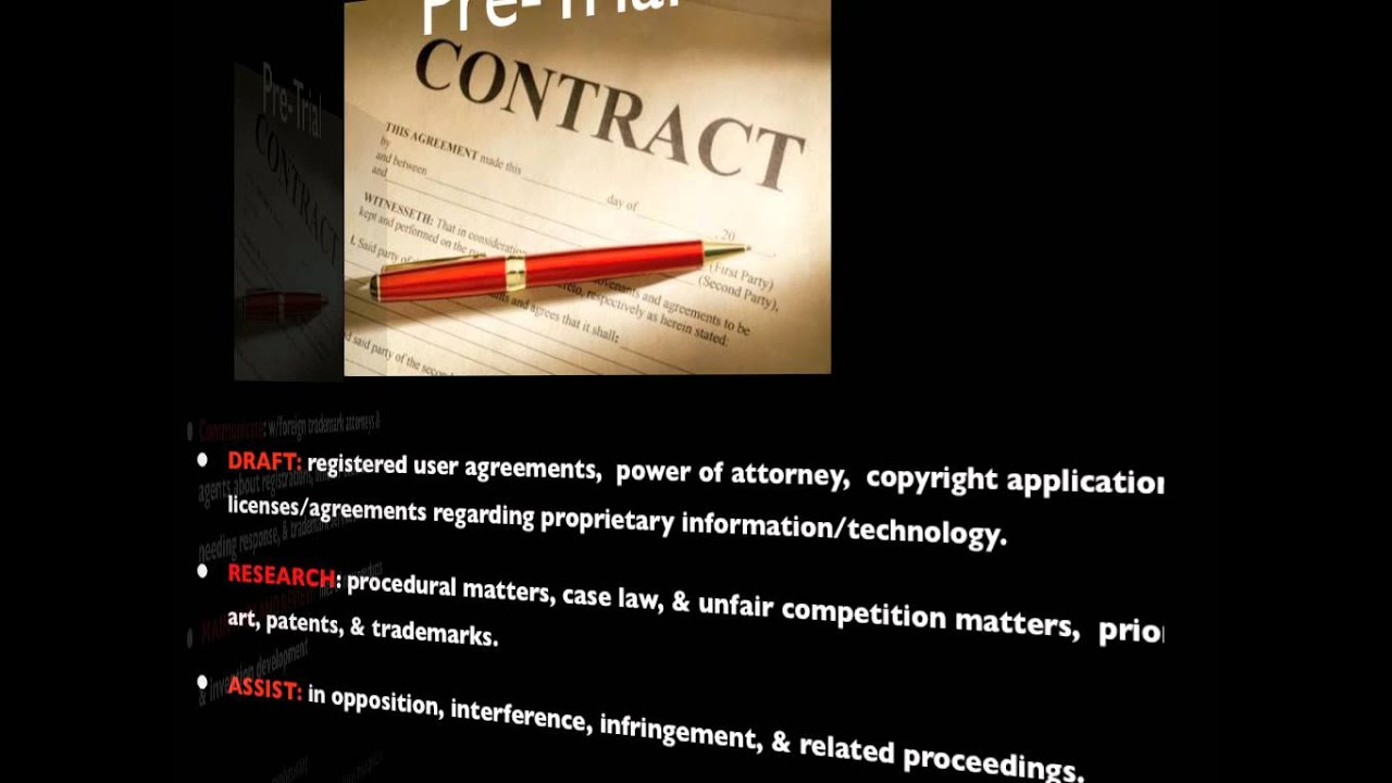 Intellectual Property Paralegal - YouTube