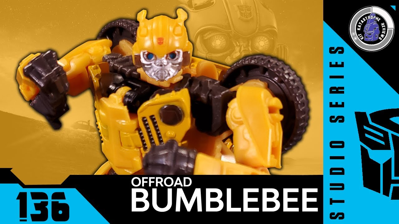 Studio Series OFFROAD BUMBLEBEE Review By Kit Katastrophe