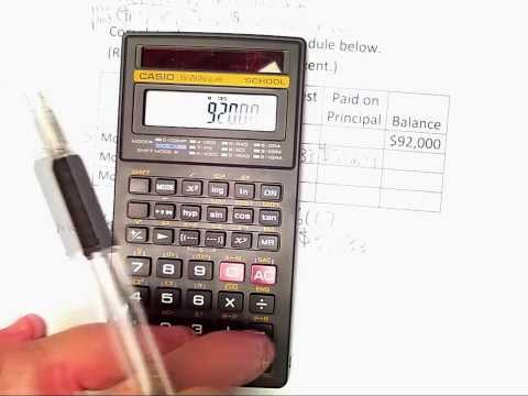 03 Calculating Monthly Payments & Amortization Schedules