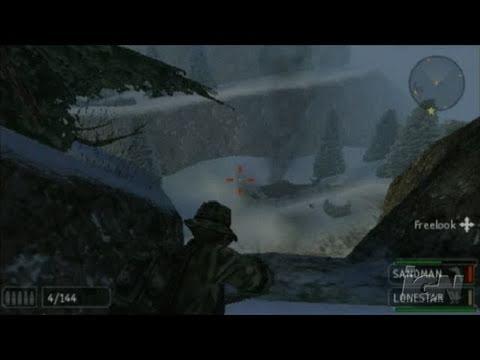 SOCOM: U.S. Navy SEALs Fireteam Bravo 2 Sony PSP Gameplay