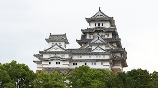 Фото слайд-шоу Замков. Замок Химэдзи (Himeji Castle) в Японии(Замок Химэдзи. Красивое слайд шоу из фотографий с музыкой. Примеры, образцы видео. Замок белой цапли. Самый..., 2014-08-16T14:46:51.000Z)