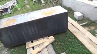 видео Теплоаккумулятор для твердотопливного котла своими руками
