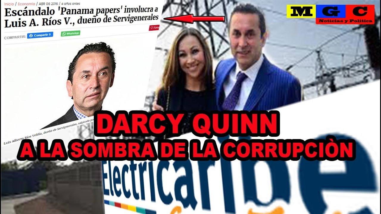 DARCY QUINN A LA SOMBRA DE LA C0RRUPC¡ÓN