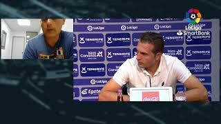 Rueda de prensa CD Tenerife vs Real Zaragoza