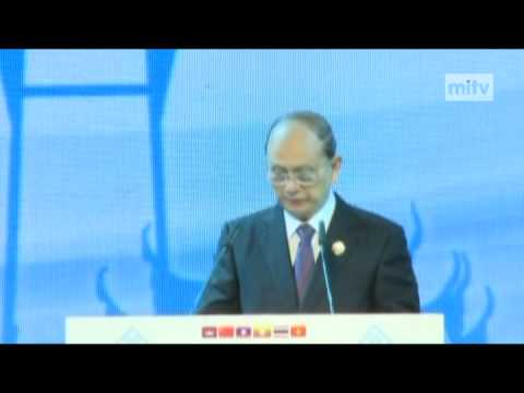 mitv - GMS Economic Coop: President Addressed 5th GMS Summit In Thailand