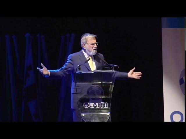 Rabbi Sacks speaks at the Olami Summit