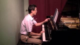 黃光立講解巴哈 G 大調小步舞曲 BWV anh.114