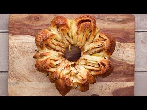 Apple Challah for Rosh Hashanah