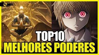 TOP 10 MELHORES PODERES NEN - Hunter x Hunter