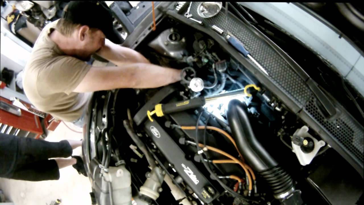 2007 ford fusion ac wiring diagram 2016 mitsubishi triton stereo focus alternator removal time lapse - youtube