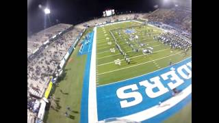 Skydive at night into MTSU Football Game
