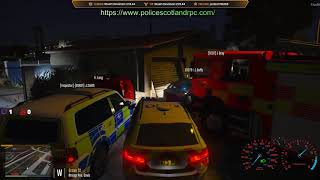police Scotland role-play community features illegal street race  livestream