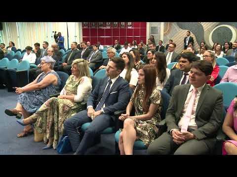 Roberto Costa participa da cerimônia de posse de novo membro do TRE-MA