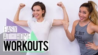 Workouts for People Who Hate Working Out ft. Blogilates!