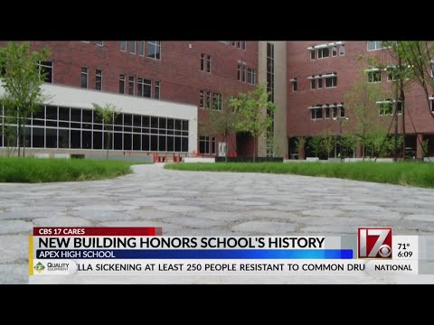 New Apex High School building honors school's history