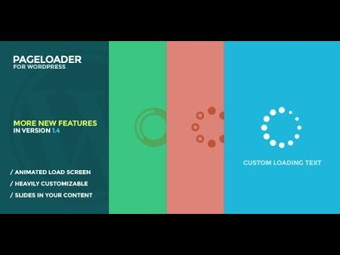 How to add Loading Screen and Progress Bar for WordPress Tutorial