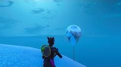 Fortnite Battle Royale - All 16 Golden Balloon Locations (Season 7 Challenges)