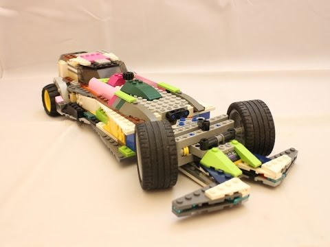 Lego Ideas Project: Electronic Car of the Future - YouTube