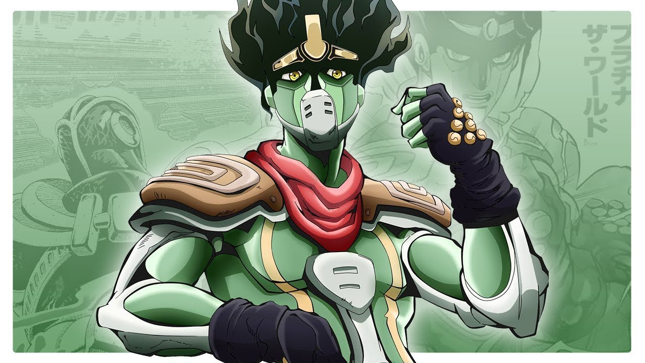 Star Platinum & Hierophant Green | Stand Fusion