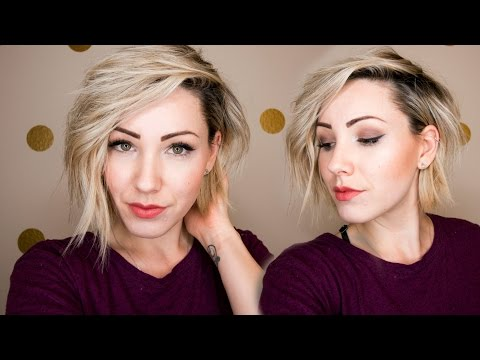 HOW TO STYLE SHORT HAIR | Curly Hair Tutorial