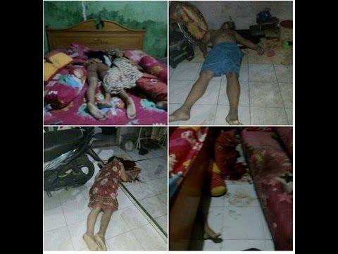 Inilah Korban Selamat dan Tewas Pembunuhan Sadis di Medan
