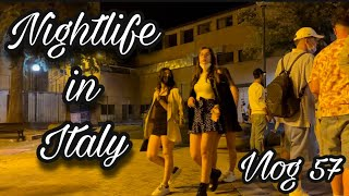 NIGHTLIFE IN ITALY ! ITALY की SECRET  नाइट लाइफ ! INDIAN IN ITALY