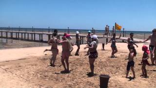 Amwaj Blue Beach Resort & Spa - July 2014 - Beach Belly Dance 3 Thumbnail