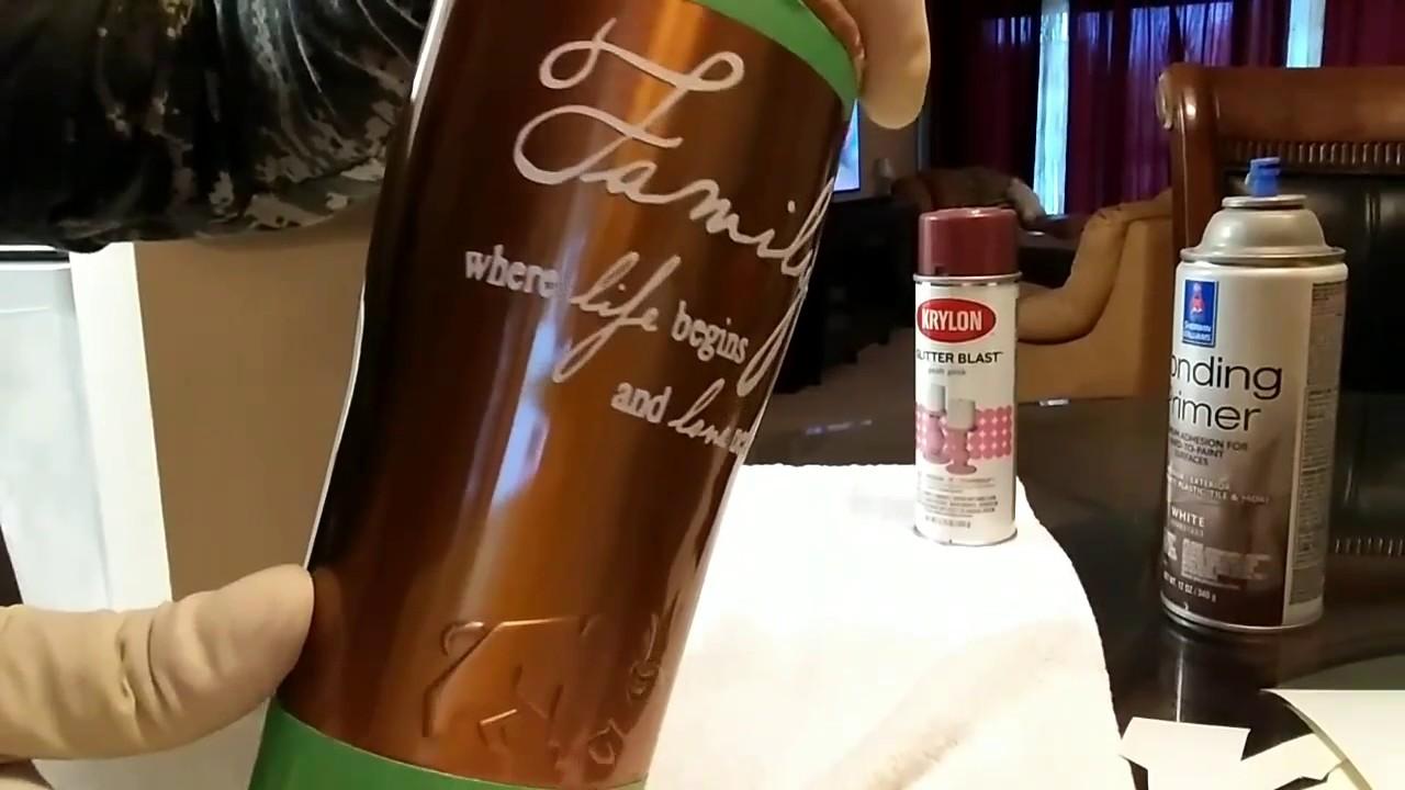 Glitter Cup Ideas