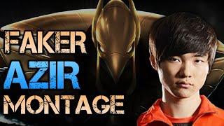 SKT Faker Montage - Best Azir Plays