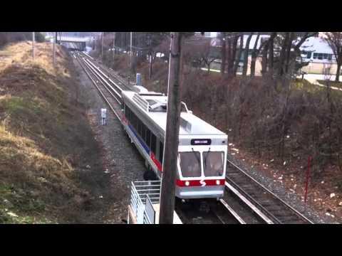 Radnor NHSL Train Northbound