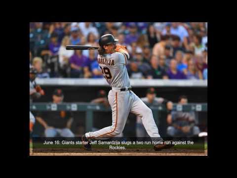Major league pitchers hitting a home run, 2017