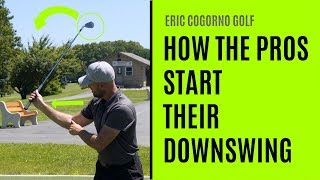 GOLF: How The Pros Start Their Downswing