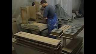 Как  делают кирпич ручной формовки в Эстонии(В видео показано как делают облицовочный кирпич ручной формовки Св. Джонс в Эстонии., 2015-04-05T10:28:17.000Z)